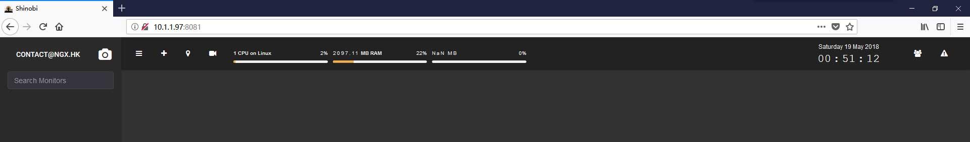 安装配置开源的监控摄像头录制软件Shinobi   NGX Project   NGX HK